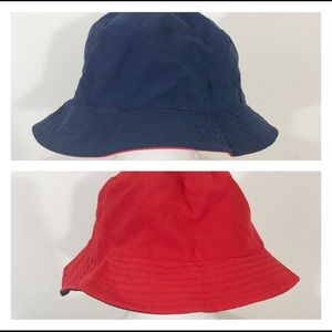 Carter's Reversible Sun Bucket Hat Red Blue